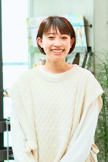 安田さん 2016年入学/2018年卒業