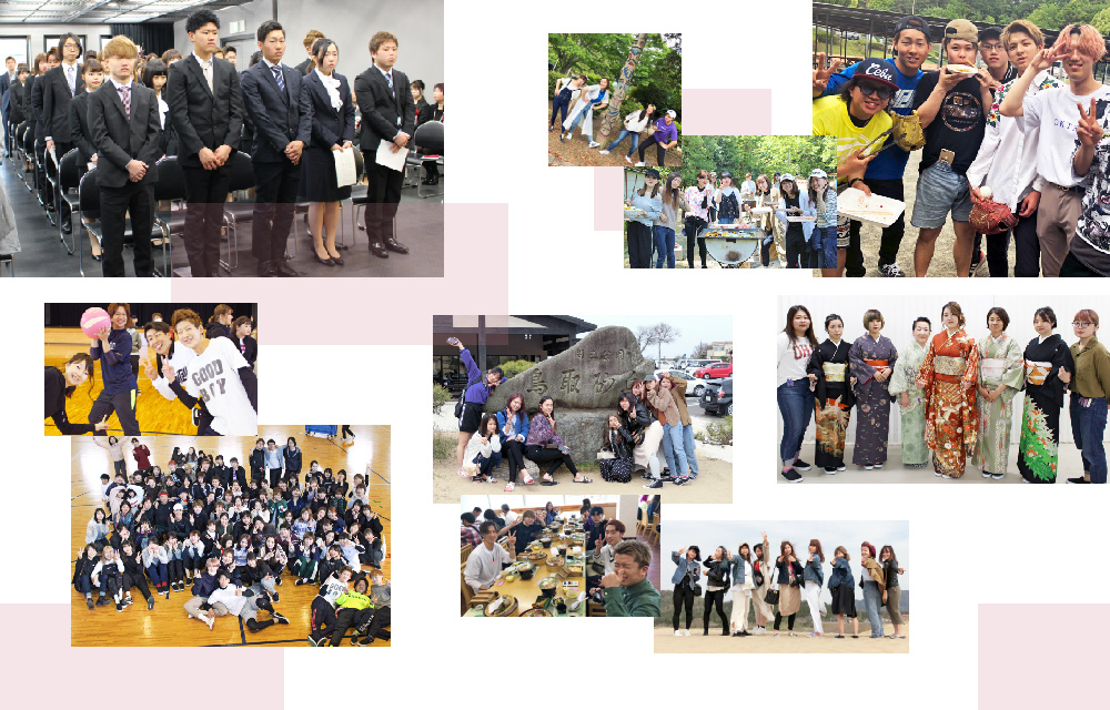 キャンパスカレンダーその1(入学式・修学旅行等)の画像一覧